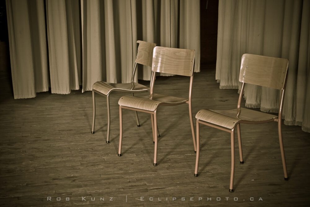 Chairs on Stage
